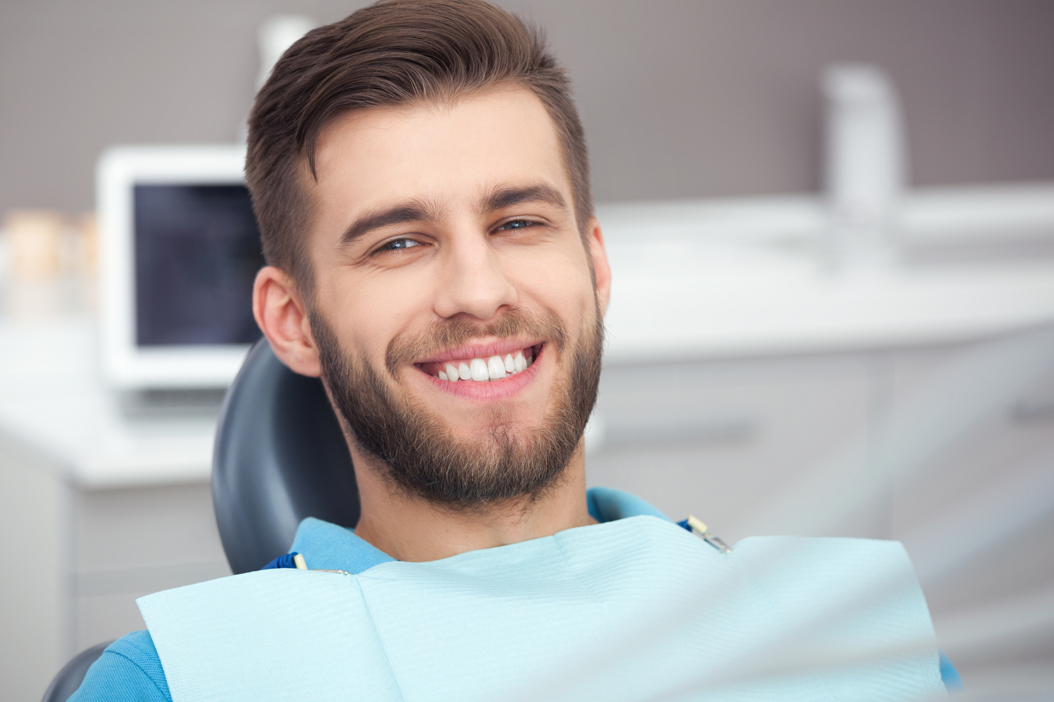 white tooth colored fillings